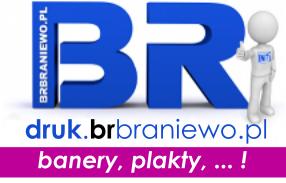 BR Braniewo - druk wielkoformatowy.